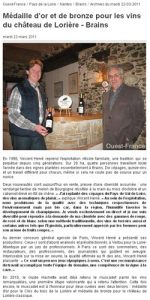 Article de 2011 Ouest France